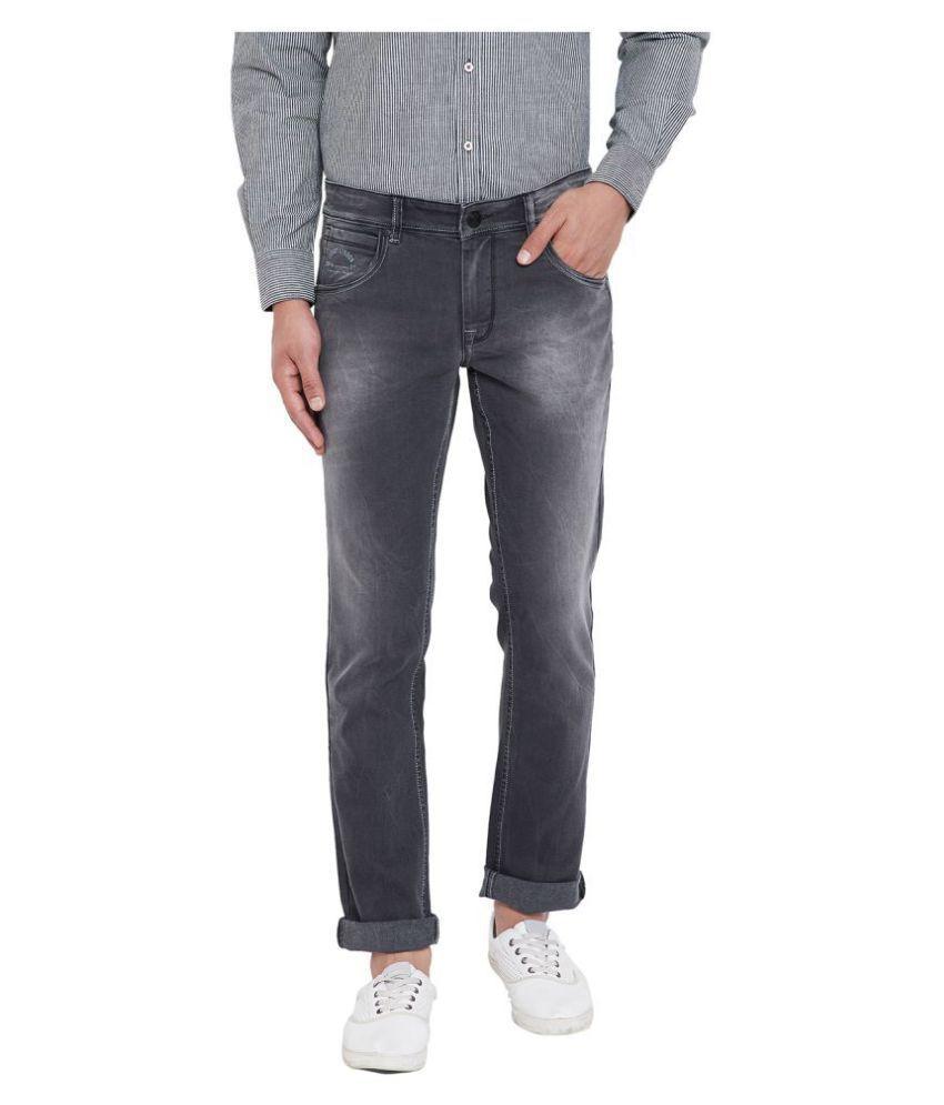 Canary London Grey Slim Jeans