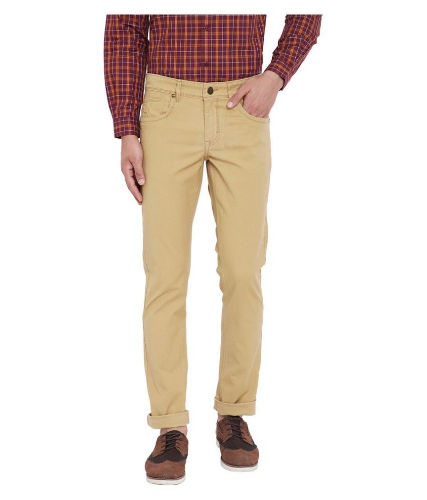 Canary London Khaki Slim Jeans