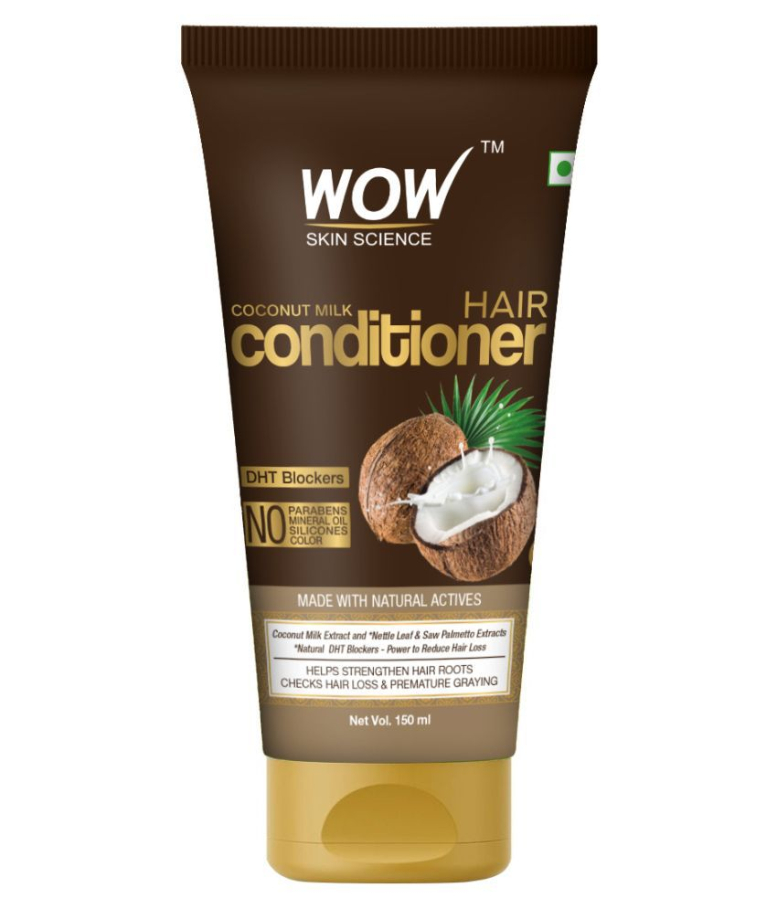 WOW Skin Science Coconut Milk Conditioner TUBE Deep Conditioner 150 mL