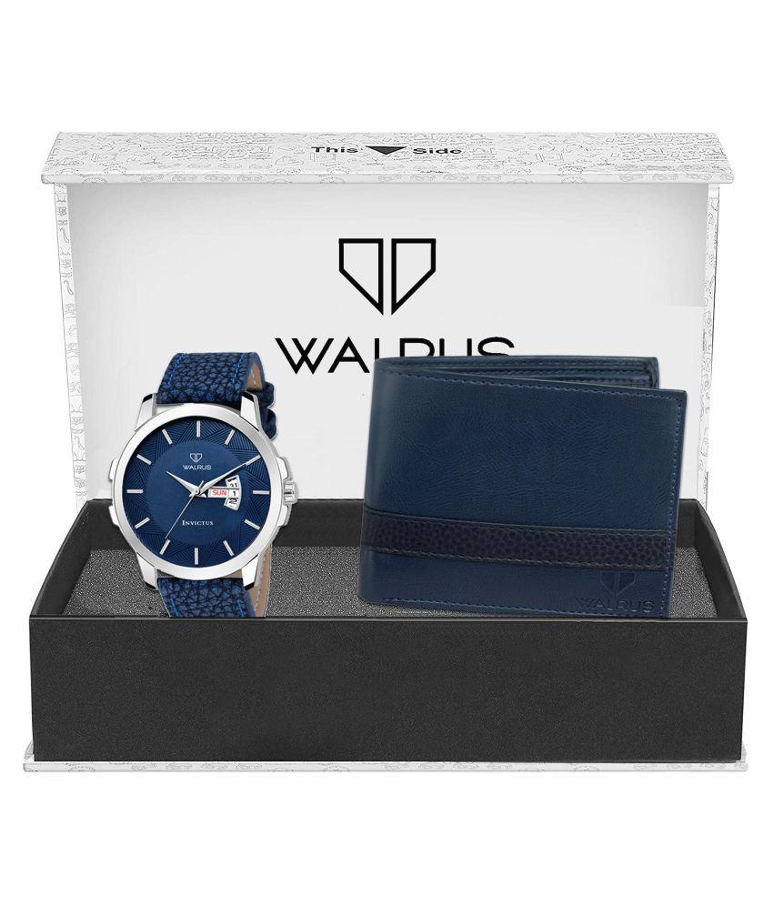 Walrus WWWC COMBO71 Leather Analog Men #039;s Watch
