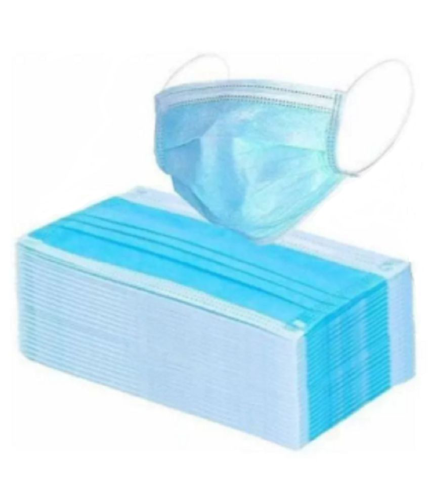 orbit 3 Ply Surgical Mask (50 Pieces)