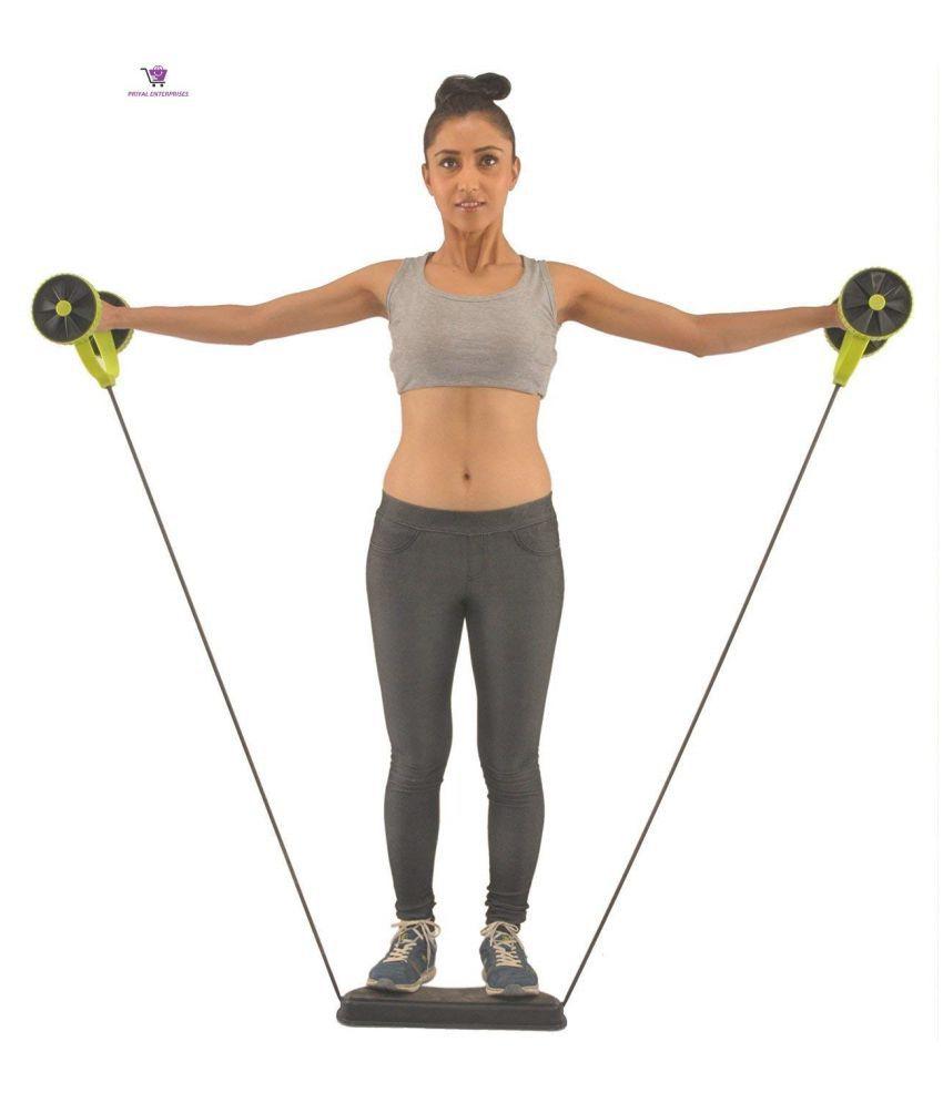 Priyal Ent. Ab Exerciser Revoflex Xtreme Home Gym Complete Body Exerciser Multicolor