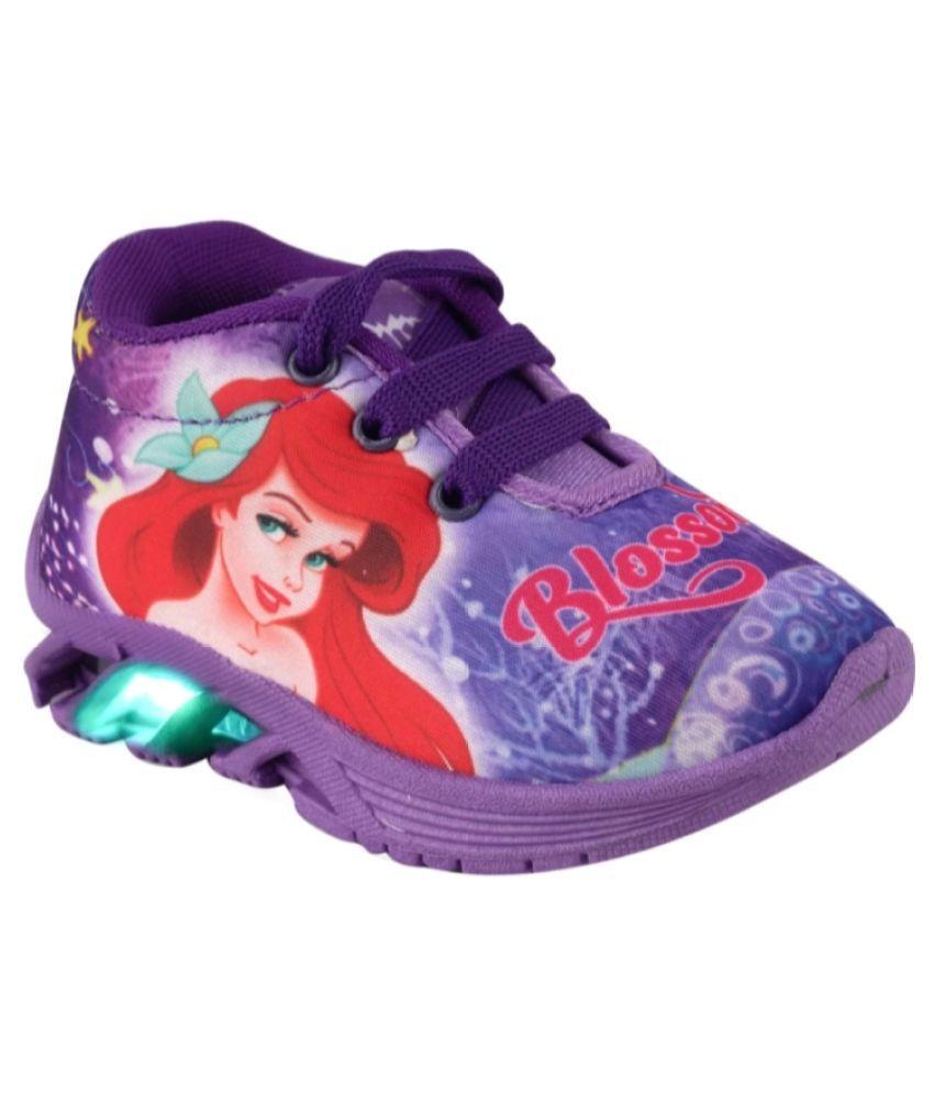 BUNNIES Baby Girl LED Light Shoe 1 to 5 Year Kids Shoe