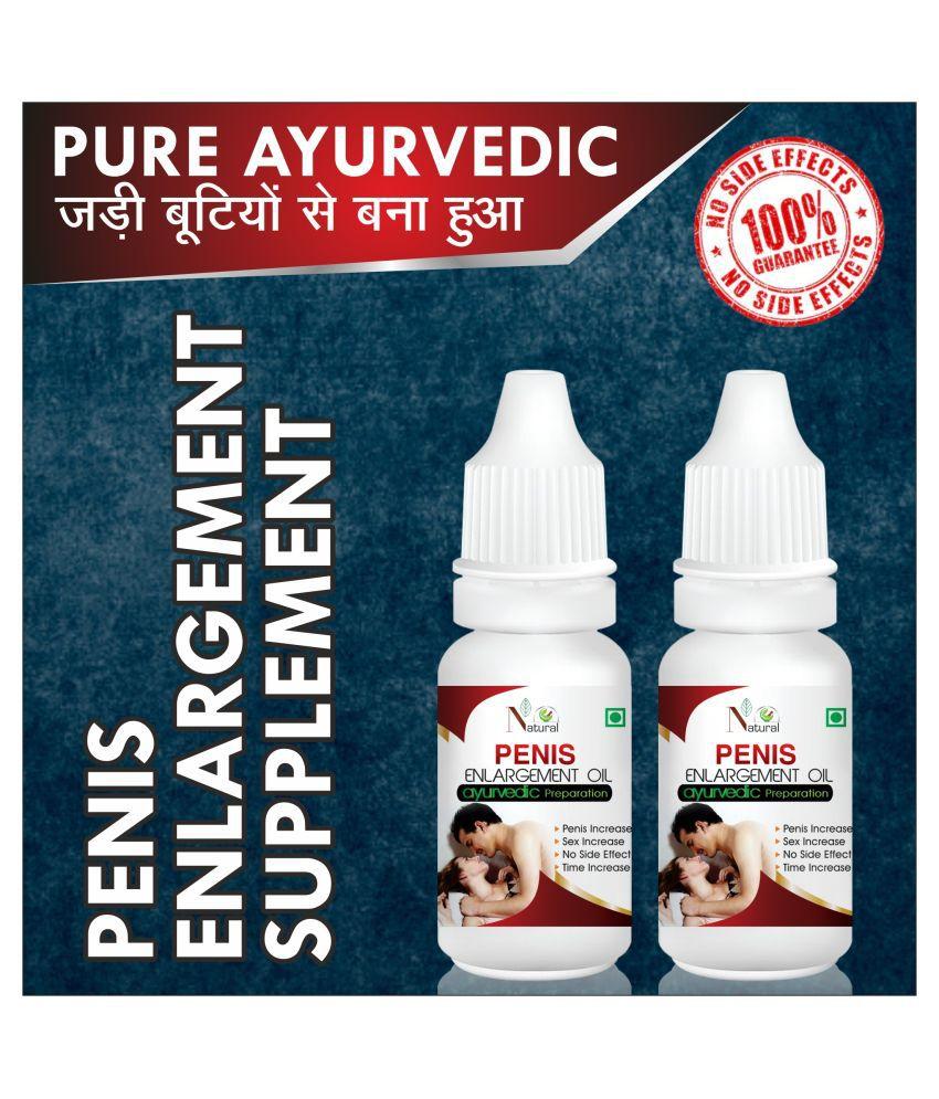 Natural Stamina enlargement herbal oil Capsule 30 ml Pack Of 2