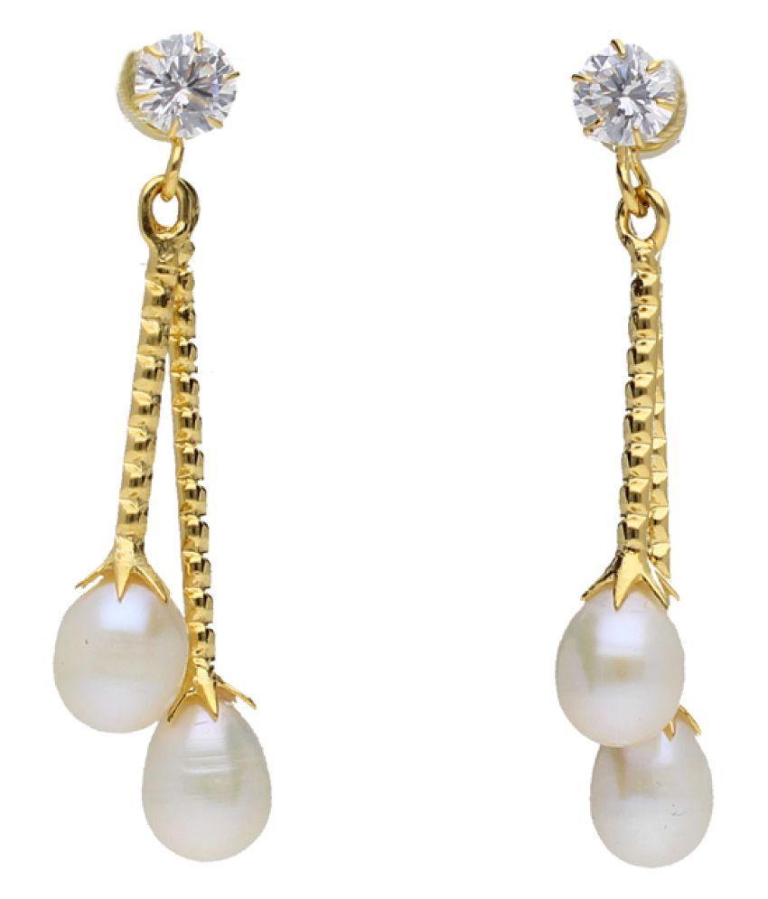 Drisana Pearl Earrings