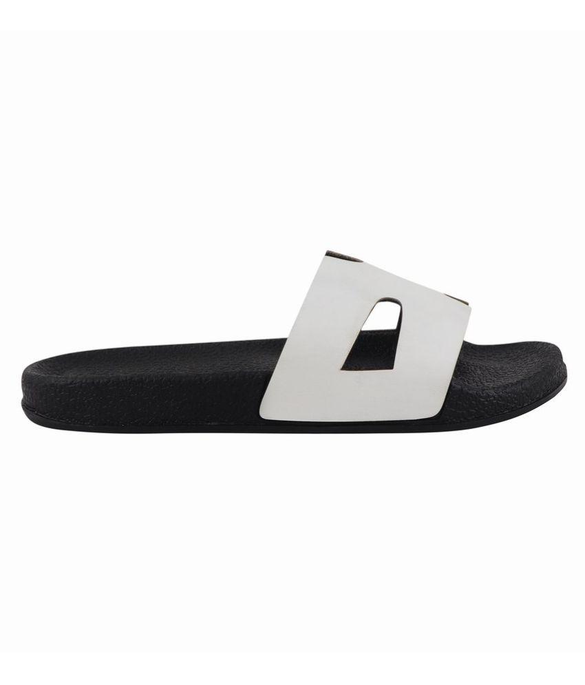 MAMZER White Slippers