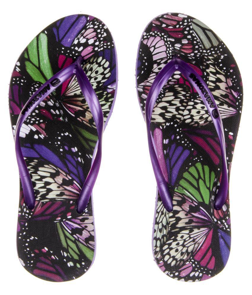 AMAZONAS Purple Slippers
