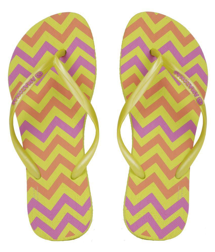 AMAZONAS Yellow Slippers