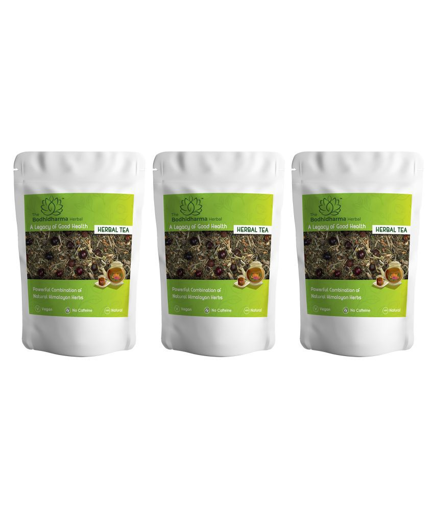 The Bodhidharma Herbal Lemongrass Tea Loose Leaf 300 gm