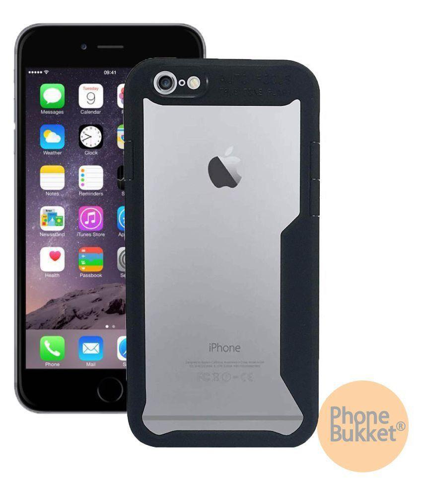 PhoneBukket Transparent Shockproof Bumper Cover Case for Apple iPhone 6s