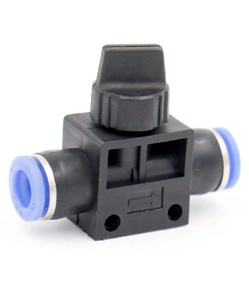 Generic 10 pcs of Pneumatic control valve Fitting 10mm PU Gadget Tool