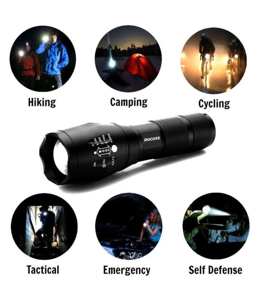 Shuangyou 5W Flashlight Torch NA - Pack of 1
