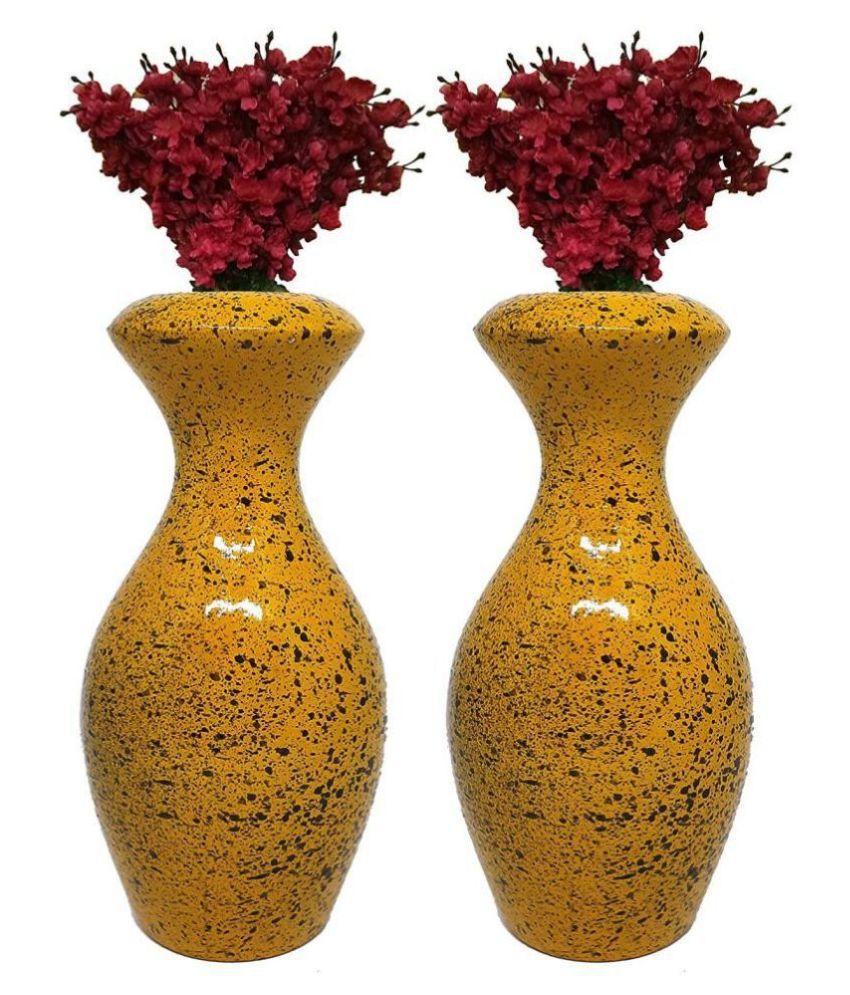 Varda Wood Table Vase 16 Cms Pack Of 2 Buy Varda Wood Table Vase 16 Cms Pack Of 2 At Best Price In India On Snapdeal