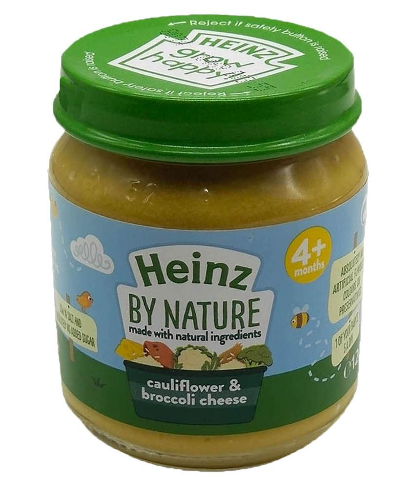 Heinz Cauliflower Broccoli  Snack Foods for 6 Months + ( 240 gm ) Pack of 2