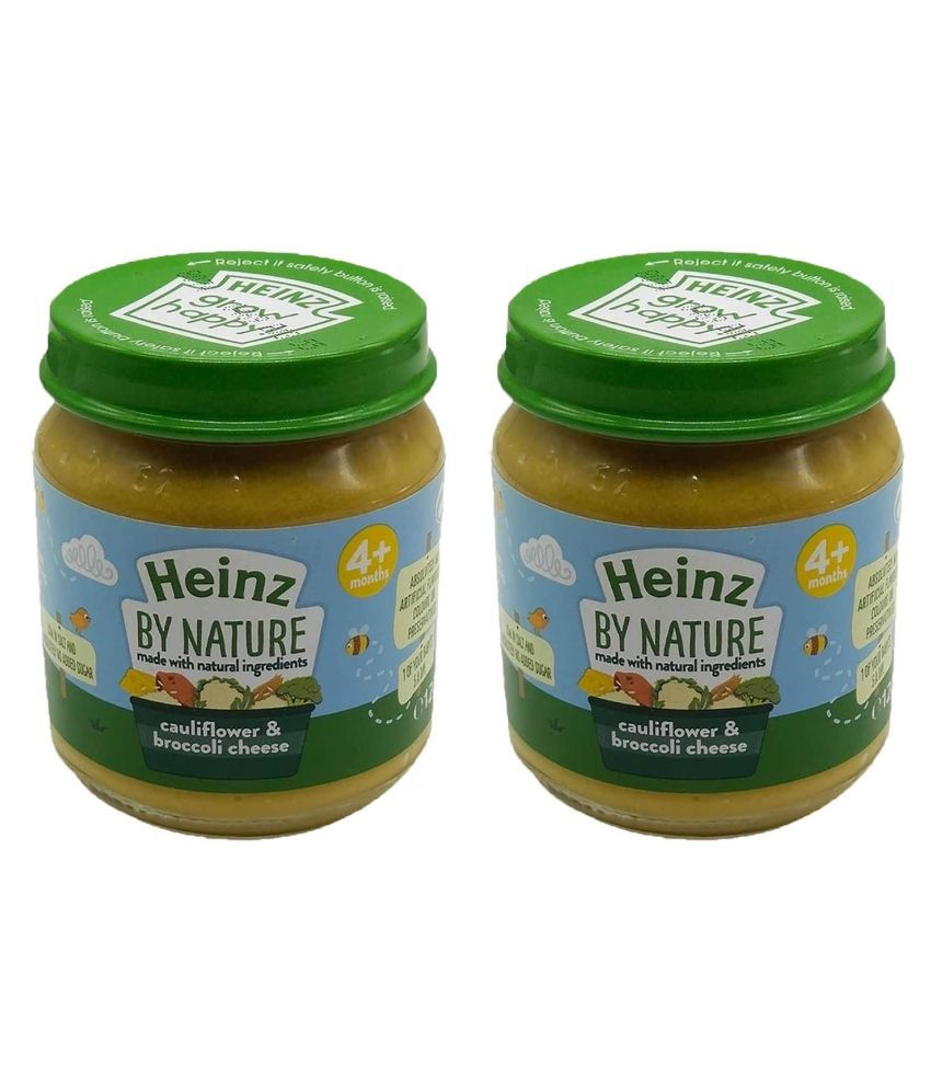 Heinz Cauliflower  Cheese Snack Foods for 6 Months + ( 200 gm ) Pack of 2