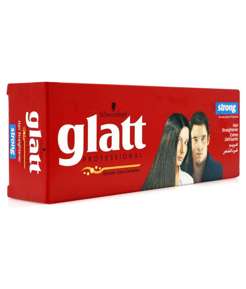 Schwarzkpf Glatt Hair Straightening Cream (Strong)