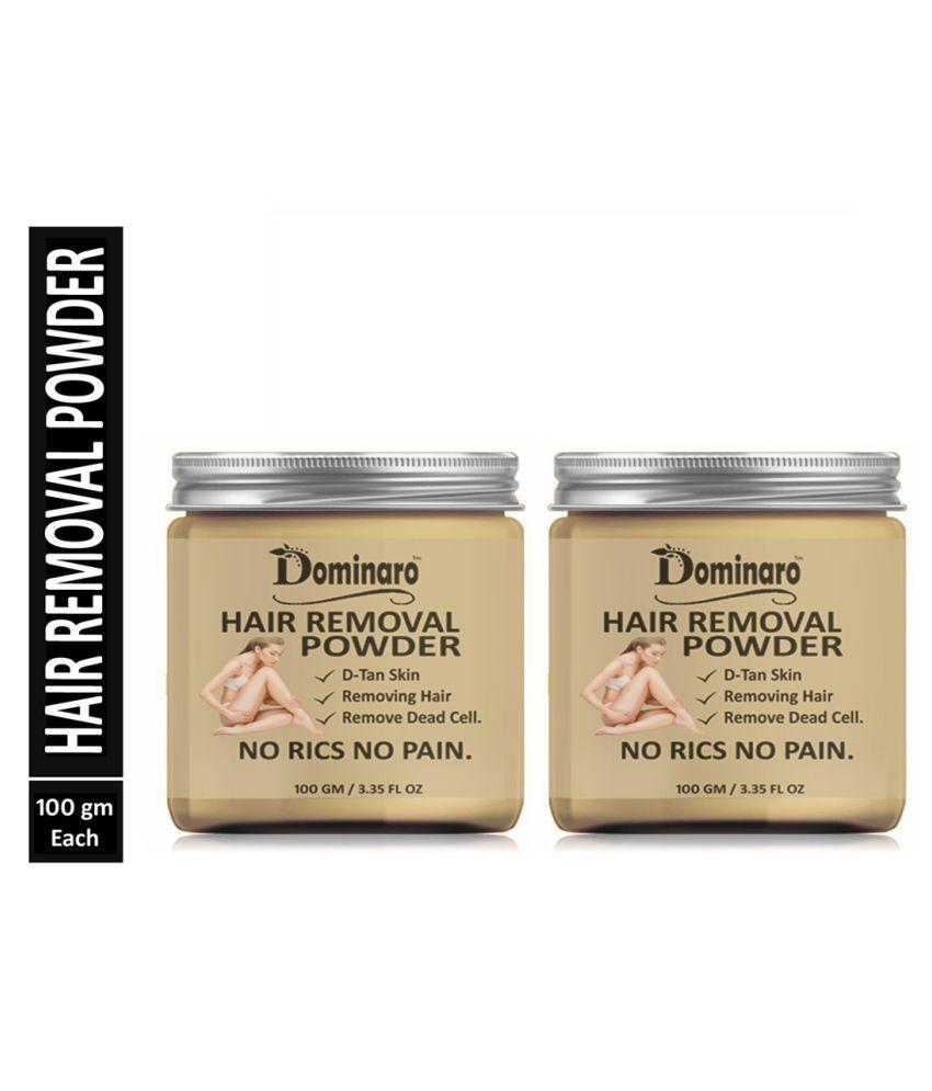 Dominaro Natural Hair Removal Powder For Hair Removal Hair Removal