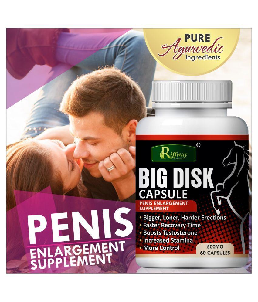 Inlazer Big disk herbal capsules  Capsule 60 no.s Pack Of 1