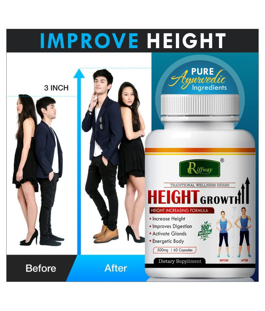 Inlazer Height Growth growing  height  Capsule 60 no.s Pack Of 1