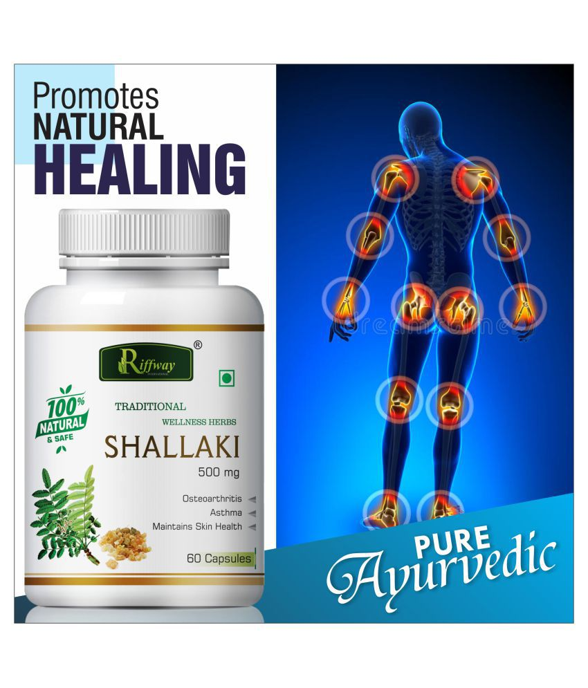 Inlazer Shallkai for osteoarthritis  Capsule 60 no.s Pack Of 1