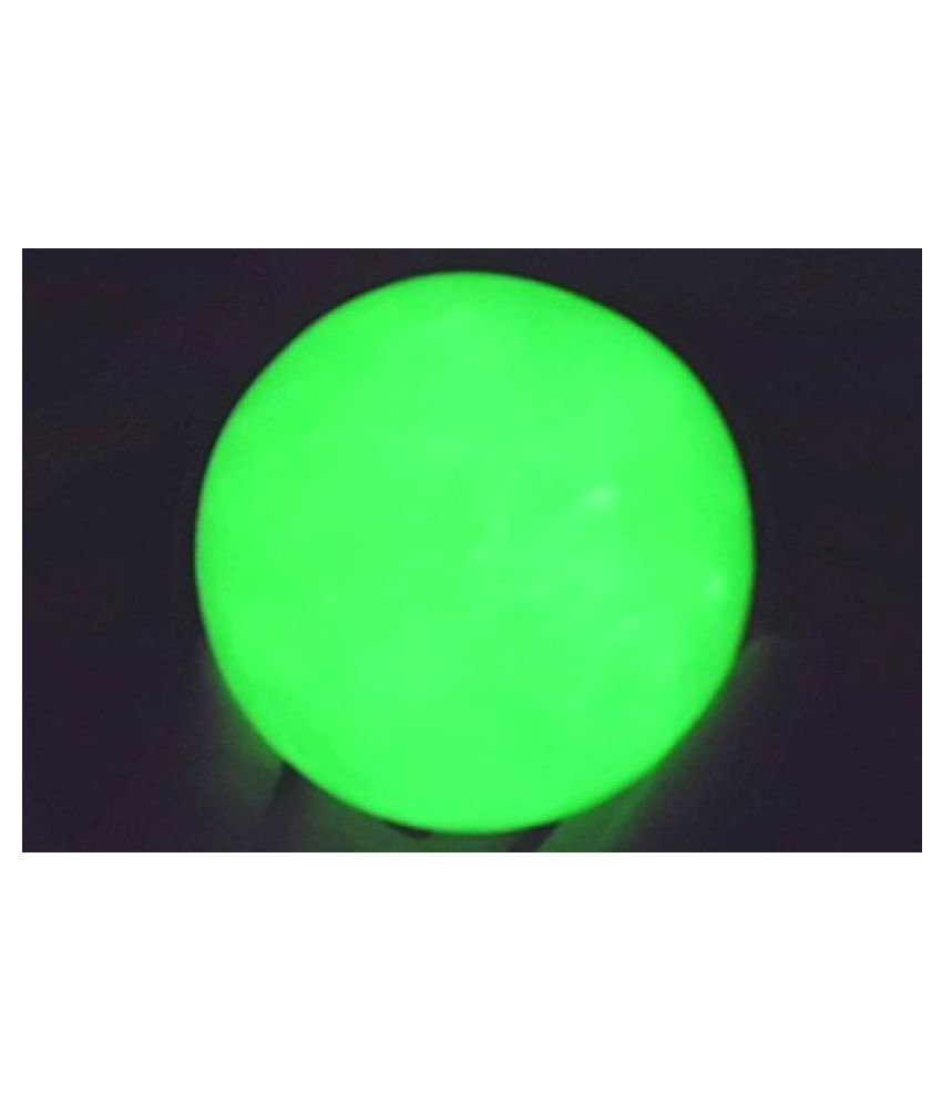 Urancia® Green Glowing Jade Sphere Ball Light Emitting In The Dark 1.4kg