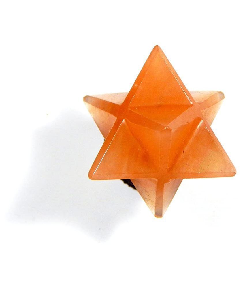 Urancia® Orange Aventurine Merkaba Star 8.07g