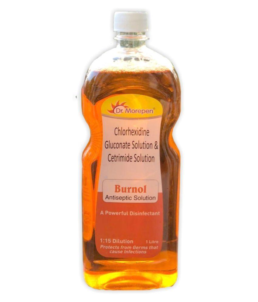 Dr. Morepen Liquid Antiseptic Solution Disinfectant Liquid 1 Litre Sanitizers 1000 mL Pack of 1