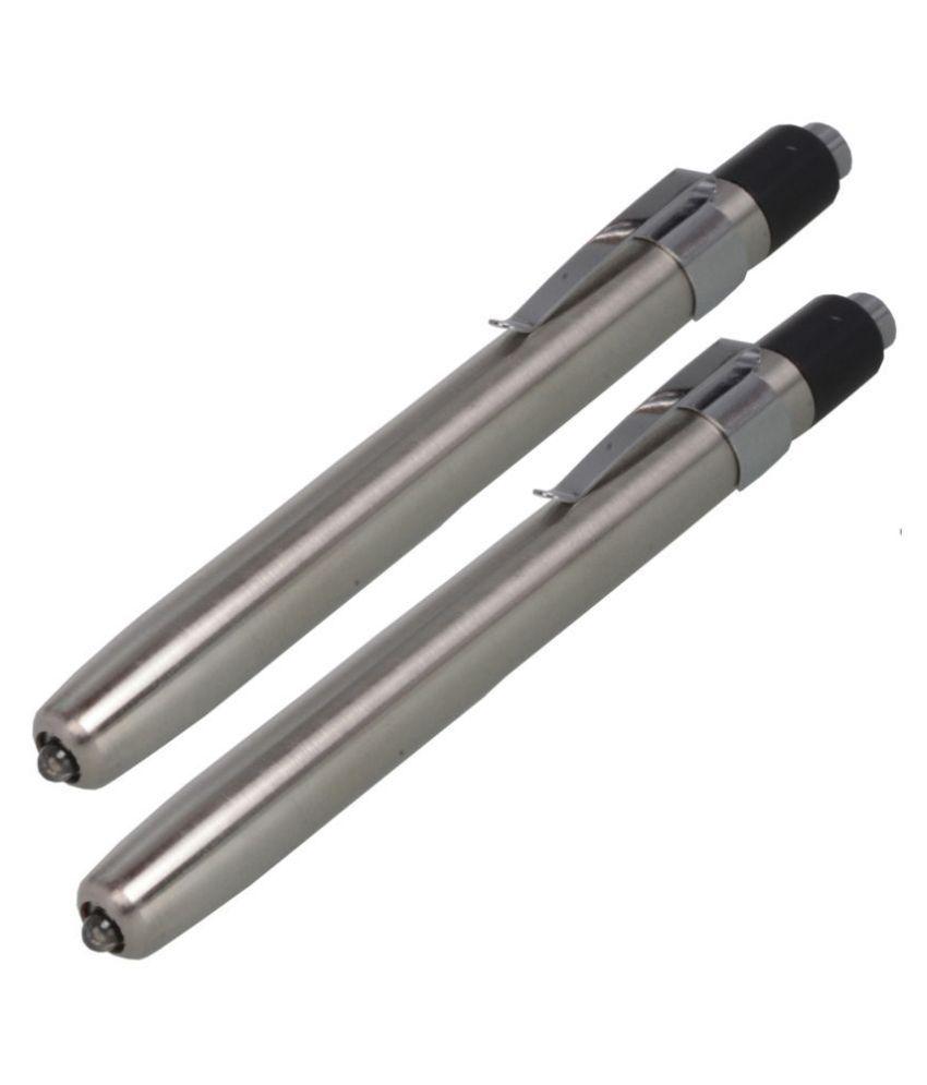 Jm 1W Flashlight Torch 2P Battery Power - Pack of 2