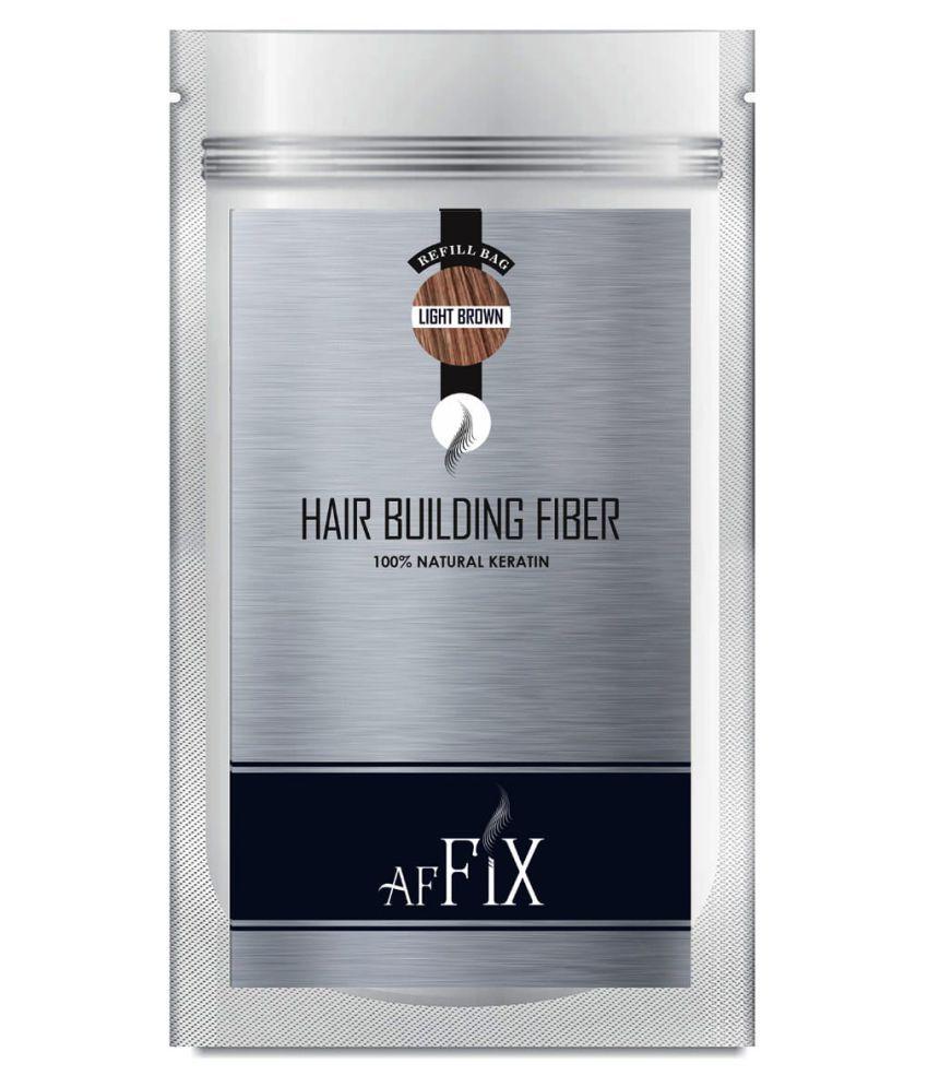Affix Hair Fibers Light Brown  40 g
