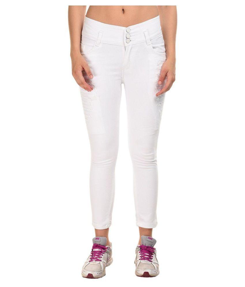 Essence Denim Jeans - White