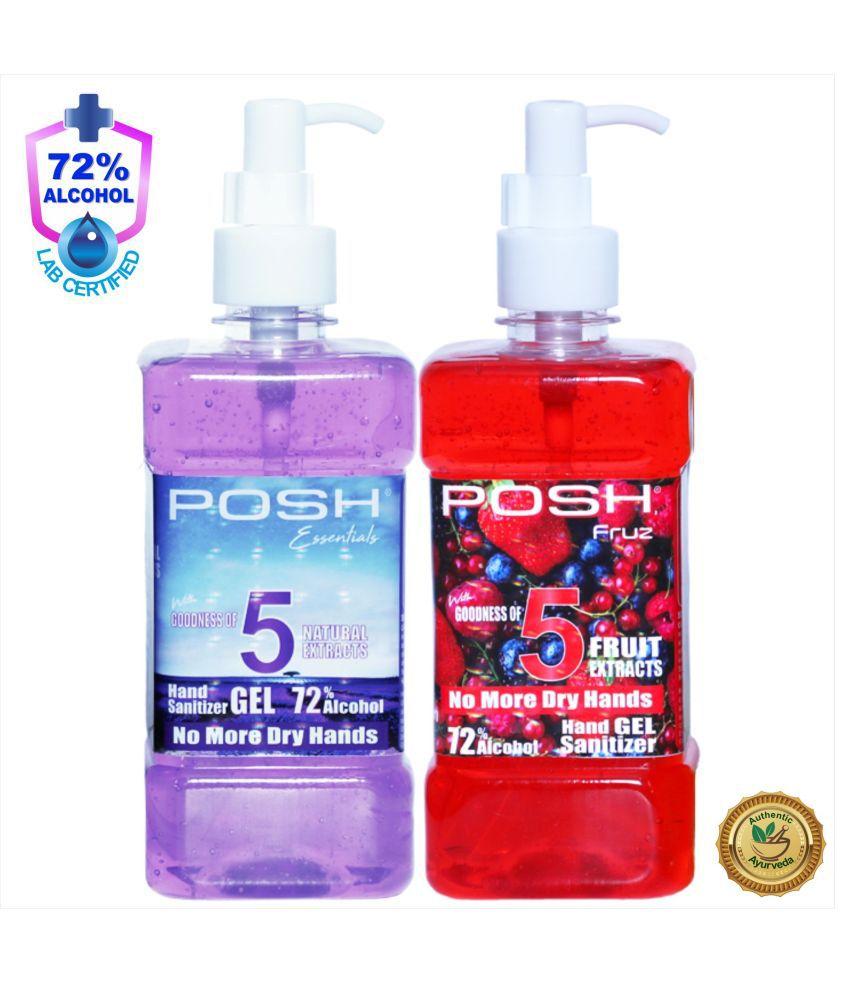 Posh Hand Sanitizer 1000 mL Pack of 2