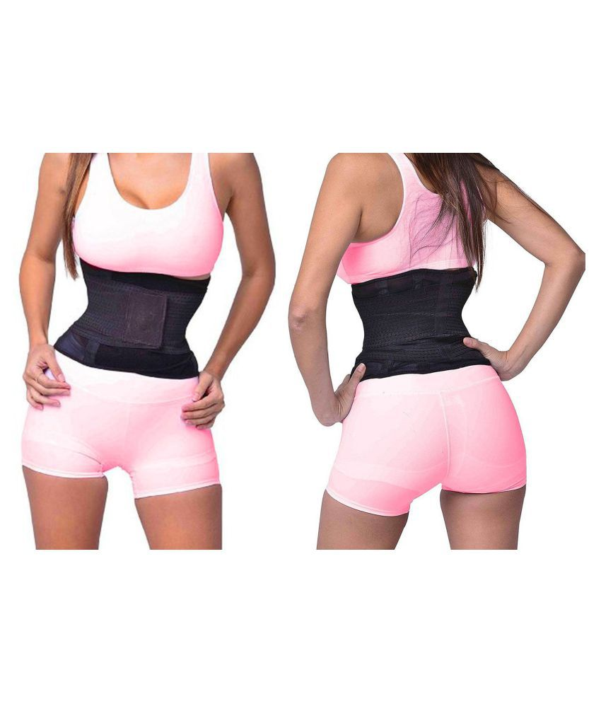 Jm Slim Waist Trimmer Belt Support Weight Fat Loss Abdominal Support Free Size