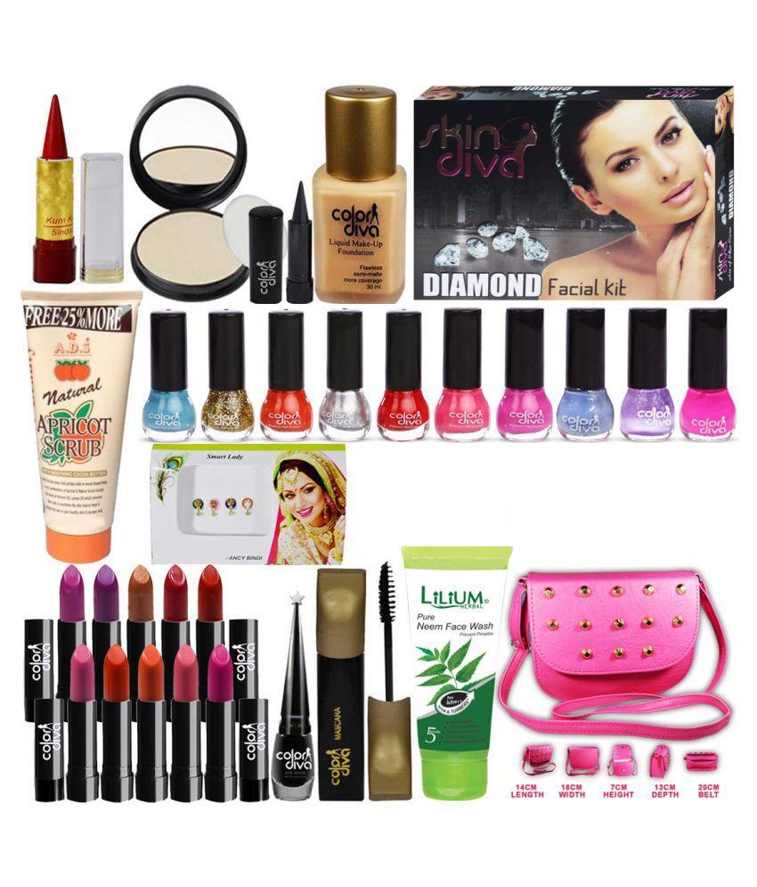Adbeni Makeup Combo Sets With Skin Care Facial Kit 500 g