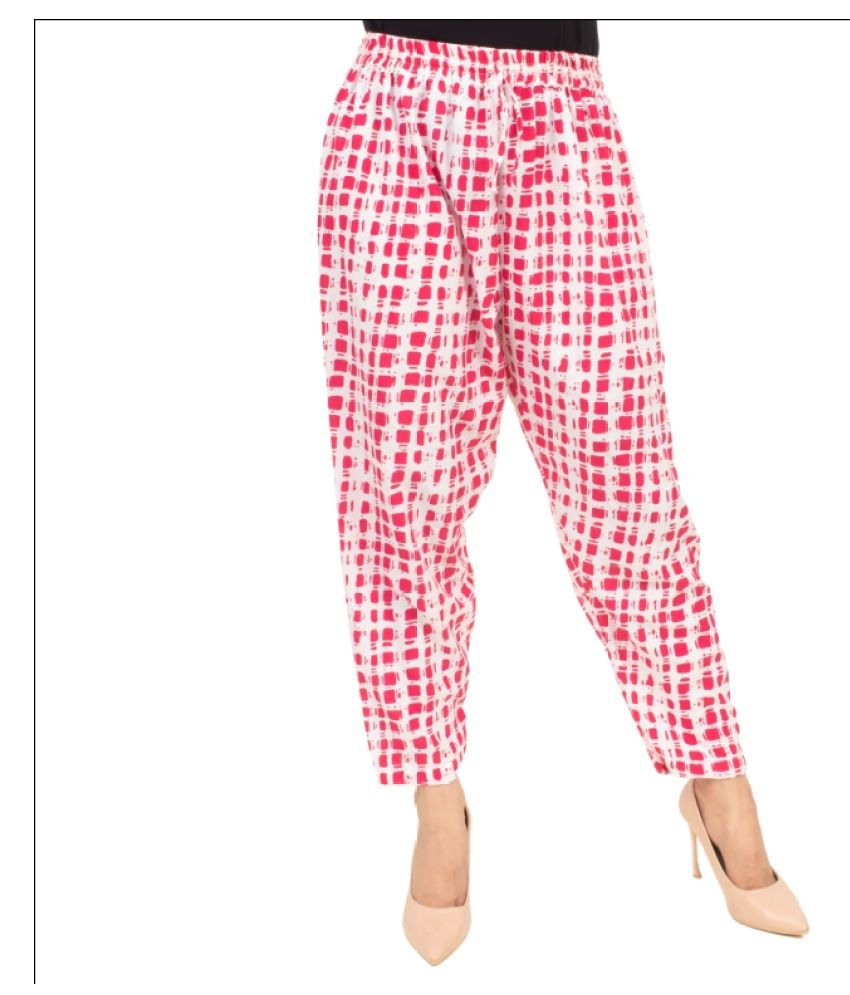 Desier Crepe Pajamas - Multi Color