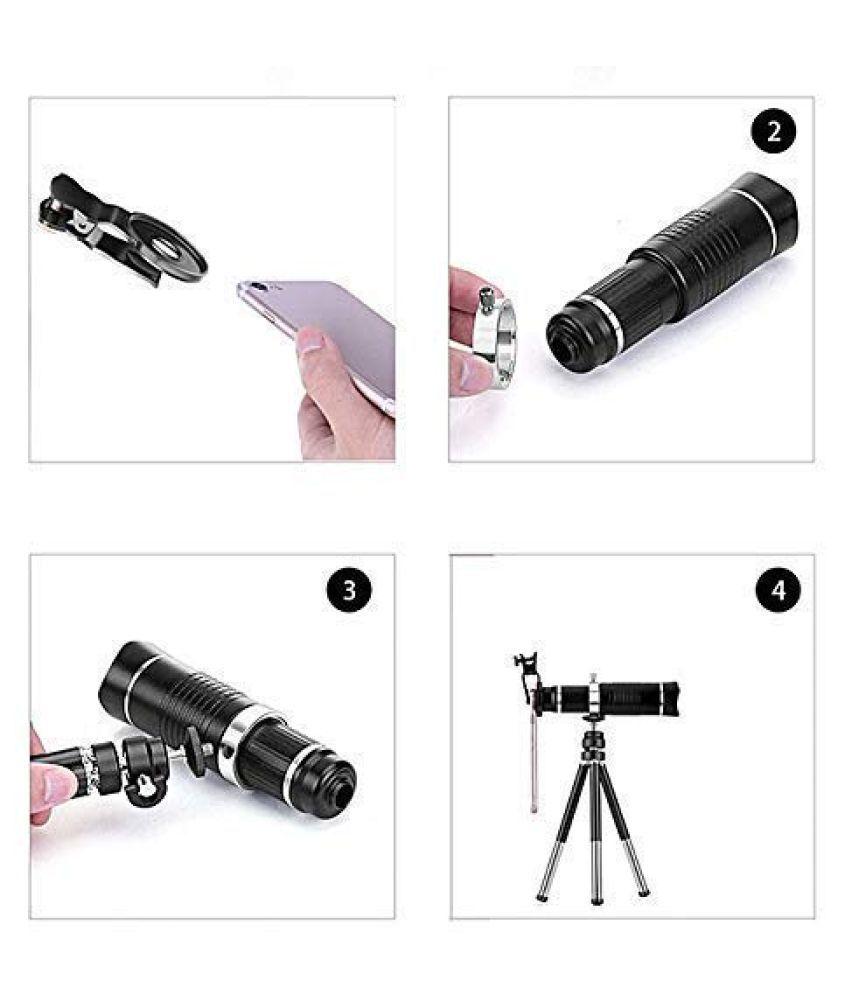 20X 4K HD Optical Zoom Mobile Telephoto Lens Kit, DSLR ...