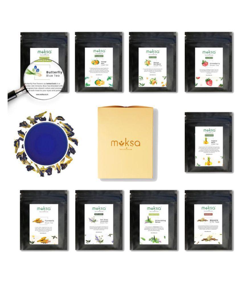 Moksa Darjeeling Tea Bags Assorted Blue Box Sampler 50 gm