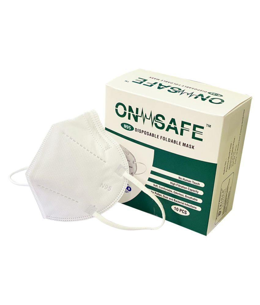 On Safe (Pack of 10) N95 Mask