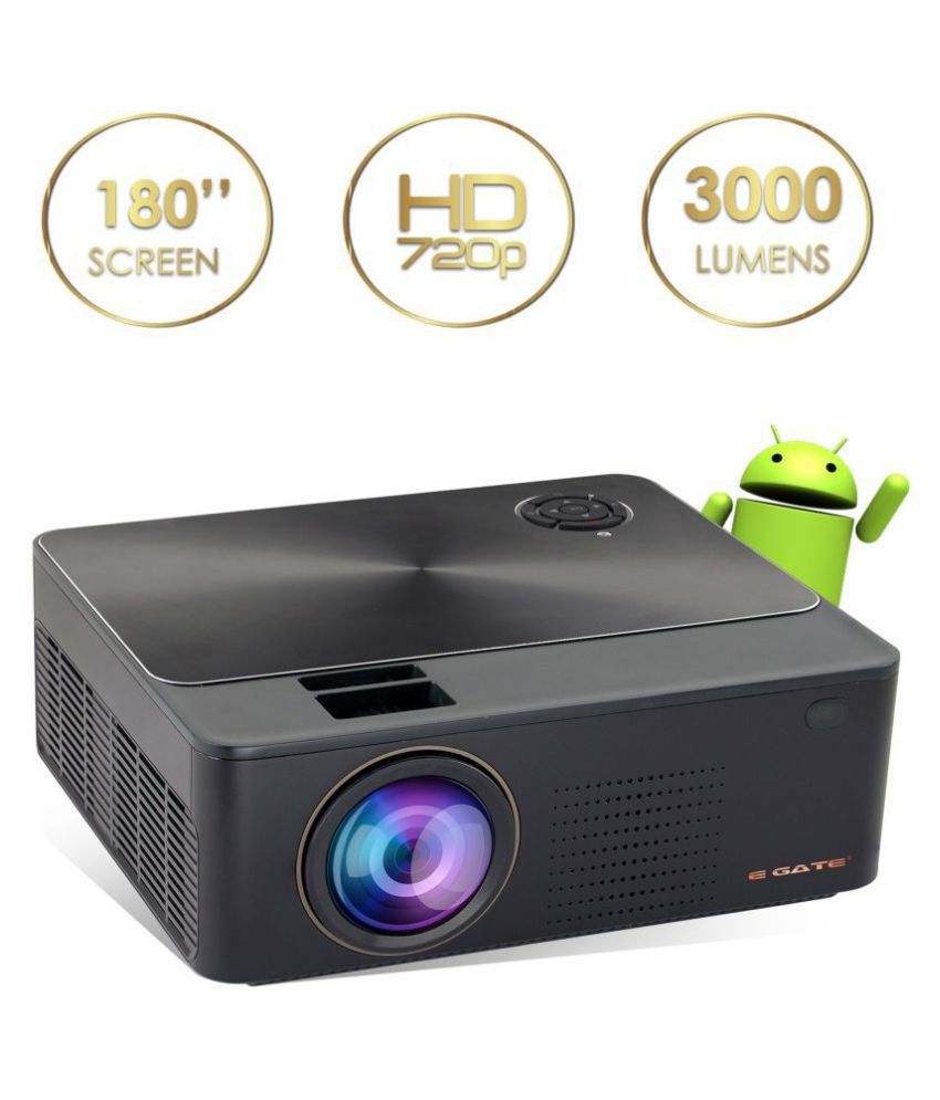 Egate K9 Android LED Projector 1920x1080 Pixels (HD)