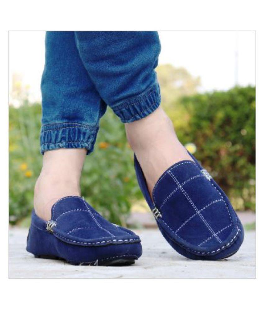 NAXH PREMIUM SPORTS SHOE Blue Loafers