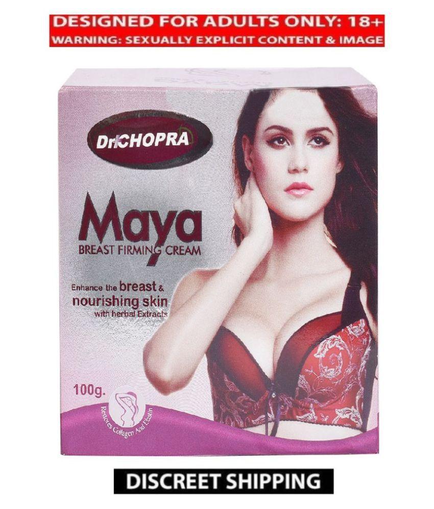 Adultjoyindia Maya Breast Firming Cream 100g by Dr Chopra