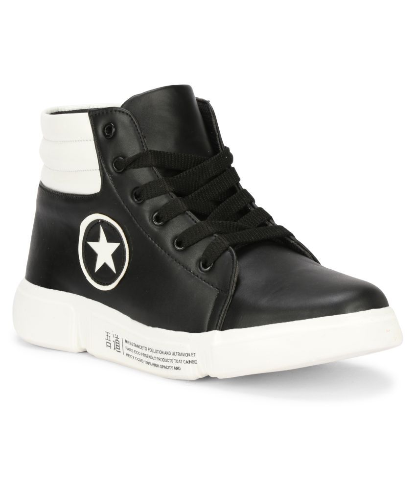 Yala Sneakers Black Casual Shoes