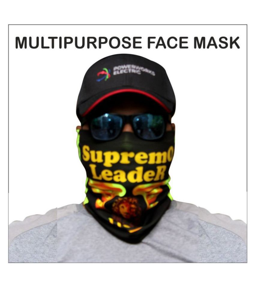 Cloudswood 100% cotton face mask cum face sheild for bike branded face mask cotton reusable for Unisex face mask shield
