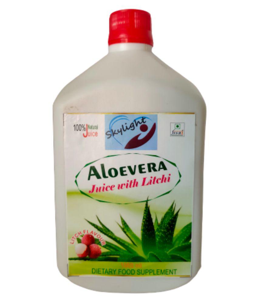 Skylight ALOE VERA LITCHI JUICE Fruit Drink Mix 1000 mL