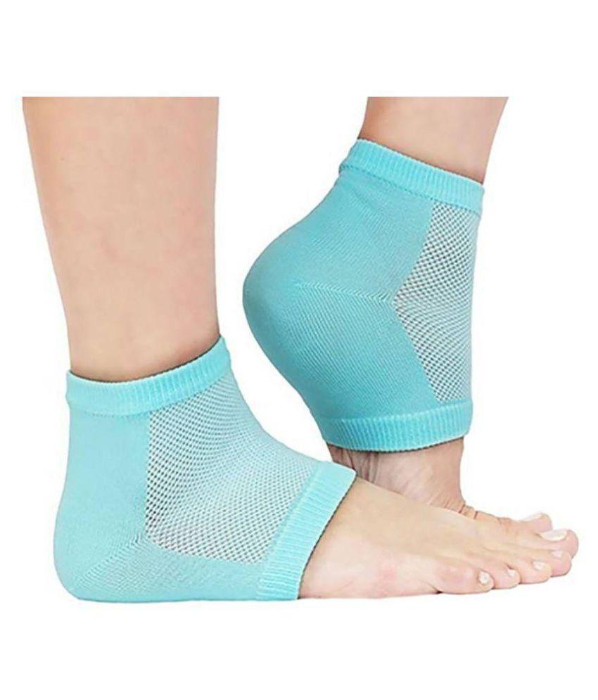 hi-lee Gel Heel Socks  Ankle Support Free Size