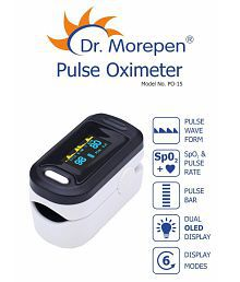 Dr. Morepen PO-15 Pulse Oximeter Finger Tip