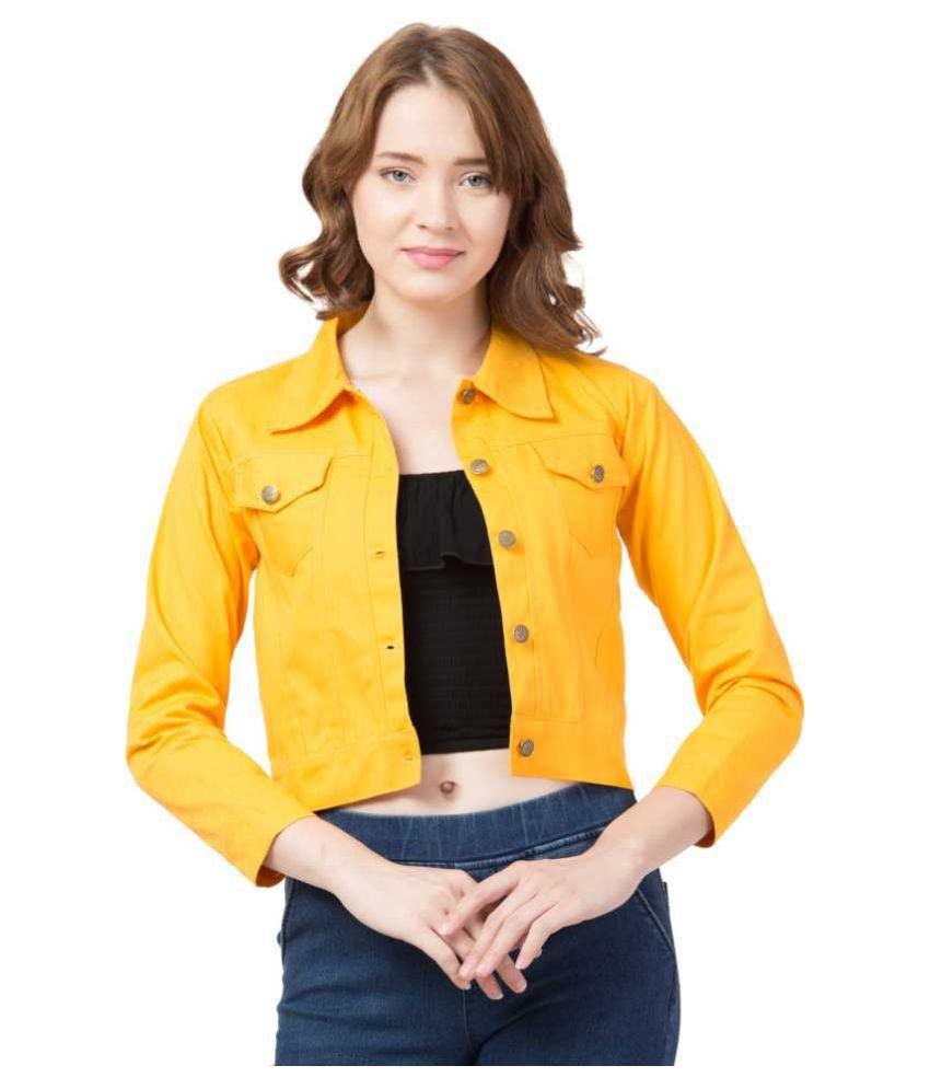 GENEALO Cotton Blend Yellow Jackets