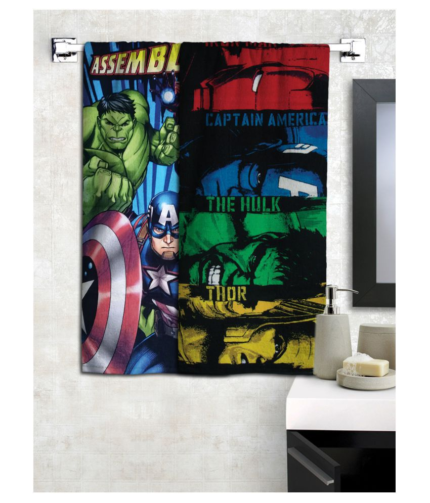 Marvel Set of 2 Cotton Bath Towel Multi