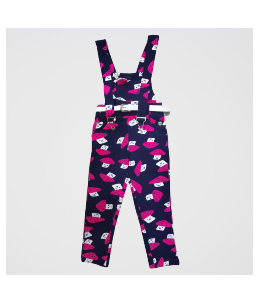 Girls casual wear Dungarees