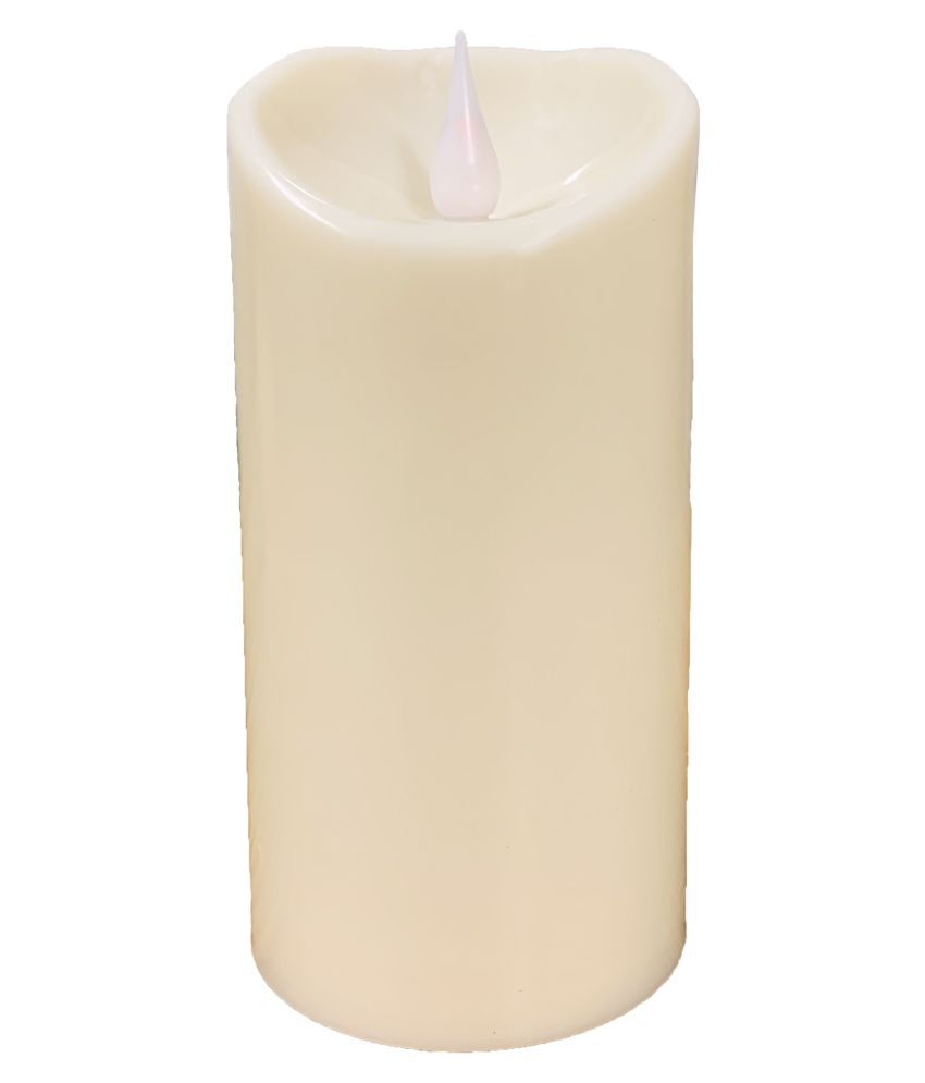 Orchard White Pillar Candle - Pack of 1