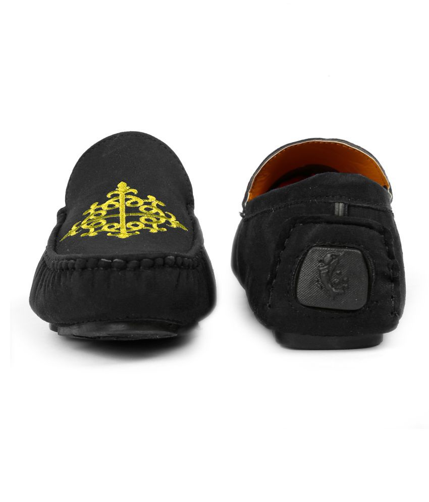 zxyzo black loafers  buy zxyzo black loafers online at